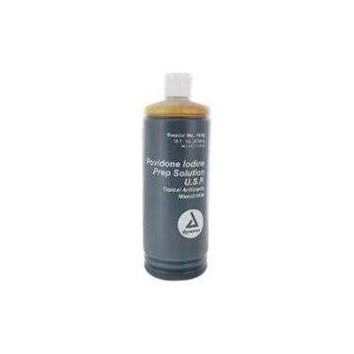 Dynarex Povidone Iodine Prep Solution, 16 oz, 6 Bottles