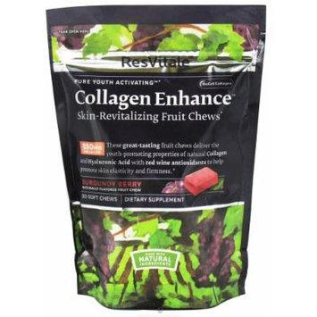 ResVitale Collagen Enhance - Burgandy Berry 30 Chews