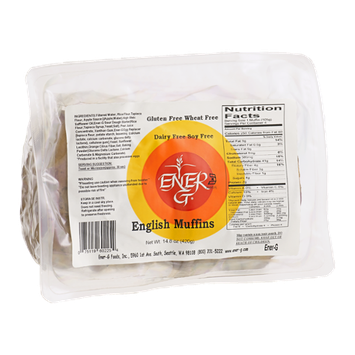 Ener-G Gluten Free Wheat Free English Muffins