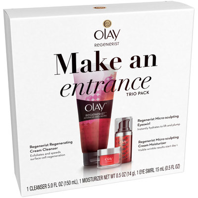 Olay Regenerist Make An Entrance Trio Pack