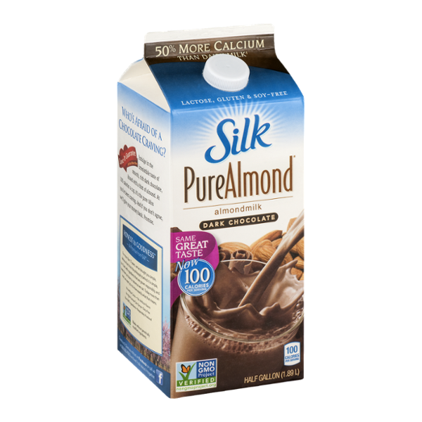 Silk Pure Almond Dark Chocolate