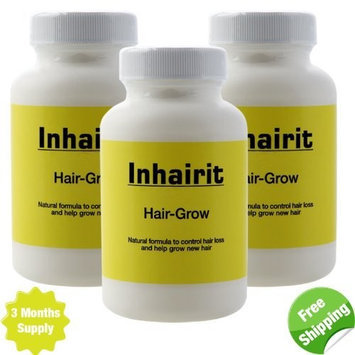 Inhairit Hair Growth Vitamins for Men and Women - Anti Hair Loss Vitamins 3 Months Supply