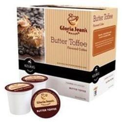 Keurig K-Cup 18-Pk. Gloria Jean's Butter Toffee Coffee