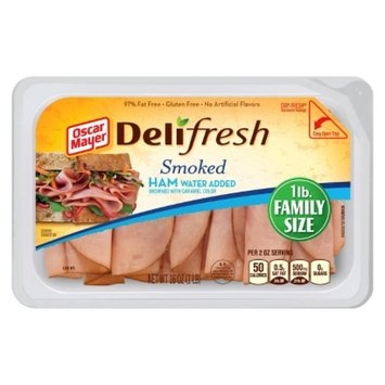 Oscar Mayer Deli Fresh Smoked Ham 16 oz