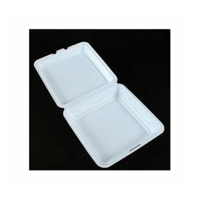 Dispoz-o Enviroware Hinged Foam Containers 3-Comp in Wheat