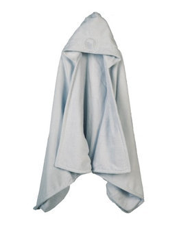 Barefoot Dreams Hooded Towel Blue - Dolphin - 1 ct.