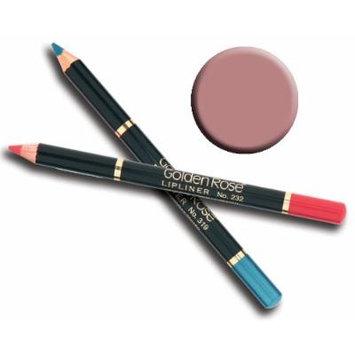 Golden Rose Lip Liner Pencil (208)