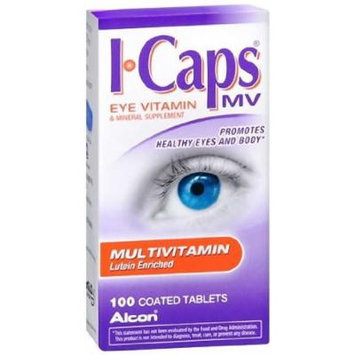 ICaps MV Lutein-Enriched Multivitamins 100 Tablets (Pack of 2)