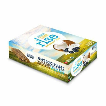 Rise Bar Energy Bar Organic Coconut Acai Case of 12 1.6 oz
