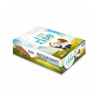 Rise Bar Energy Bar Organic Coconut Acai Case of 12 1.6 oz
