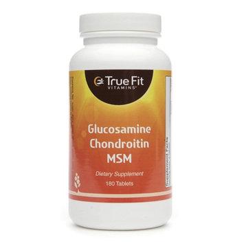 True Fit Vitamins Glucosamine Chondroitin MSM