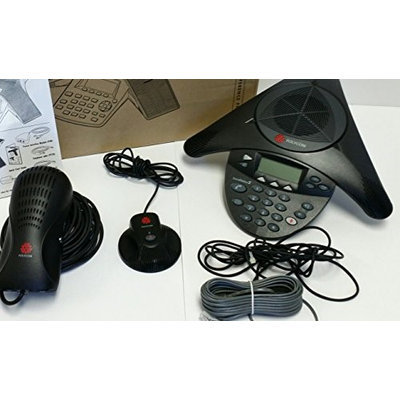 Polycom 2200-16200-001 w/ EX Mics Item # 2200-16200-001 + 2200-16155-001