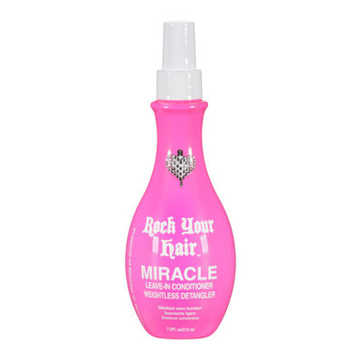 Rock Your Hair Michael O'Rourke  Miracle Leave-In Conditioner Weightless Detangler