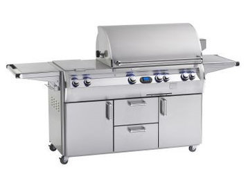 Fire Magic Echelon Diamond E790 Natural Gas Grill With Single Side Burner On Cart