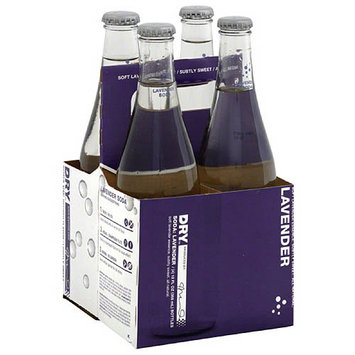 DRY Lavender Soda, 4 count, (Pack of 6)