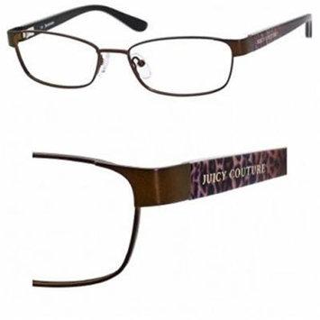 JUICY COUTURE Eyeglasses 122/F 01R6 Brown 52mm