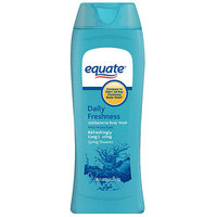 Equate Daily Freshness Spring Showers Antibacterial Body Wash