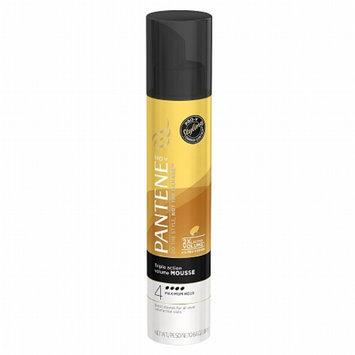 Pantene Pro-V Fine Hair Style Volume Triple Action Hair Mousse, 6.6 oz
