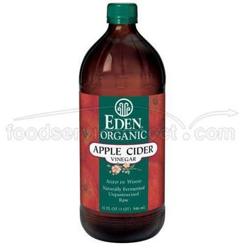 Eden Foods Organic Apple Cider Vinegar, 32 Ounce -- 12 per case.