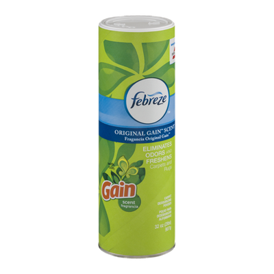 febreze carpet deodorizer powder original gain scent