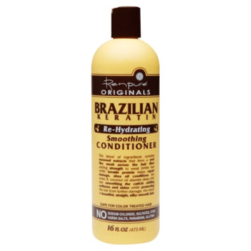 Renpure Originals Brazilian Keratin Re-Hydrating Conditioner, 16 fl oz
