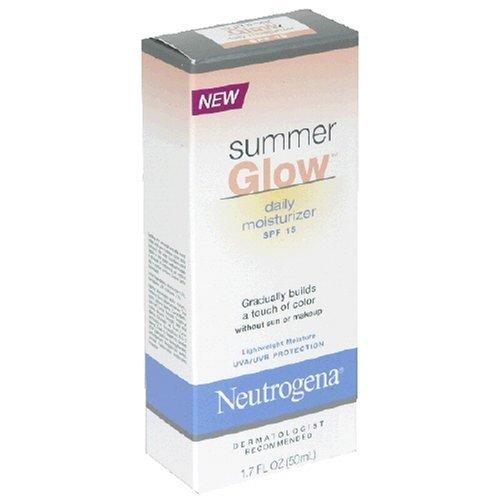 Neutrogena Summer Glow Daily Moisturizer, SPF 15, 1.7 Ounce