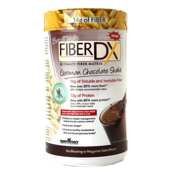 BarnDad Nutrition FiberDX Ultimate Fiber Matrix, German Chocolate, 1.98 lbs
