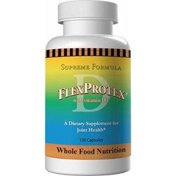 FlexProtex D Joint Formula w/ Vitamin D3 + 1 Silver Foil Pack CoralCal Daily Sachets (6 sachets) Flex-Protex