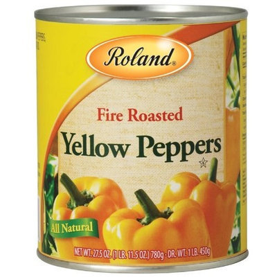 Roland Fire Roasted Yellow Peppers