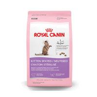 Royal CaninA Spayed/Neutered Kitten Food