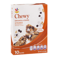 Ahold Chewy Granola Bars S'mores - 10 CT