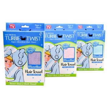 Turbie Twist Microfiber Super Absorbent Hair Towel