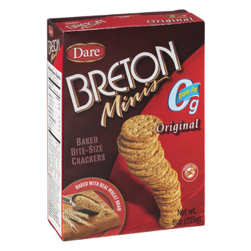 Breton Minis Original Bite-Size Crackers