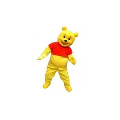 Annie Winnie the Pooh Plush Cartoon Character Costume