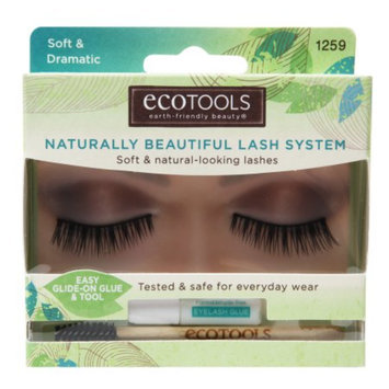 Eco Tools Naturally Beautiful Lash System, Soft & Dramatic, 1 pr