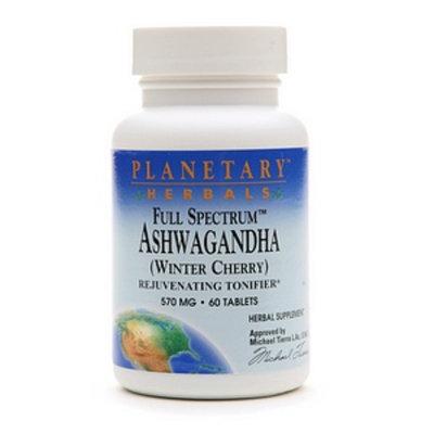 Planetary Herbals Full Spectrum Ashwagandha 570mg