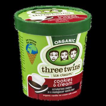 Three Twins Ice Cream Organic Cookies & Cream
