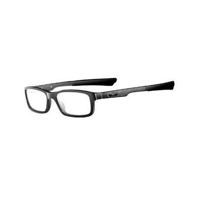 Oakley Bucket Man's Eyeglasses Frame Polished Black Color/51mm Size