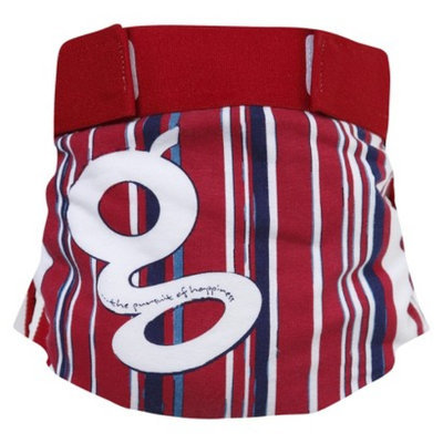 gDiapers gPants - Grandstand Stripe, Small