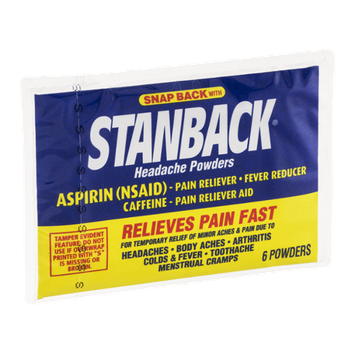 Stanback Headache Powders - 6 CT