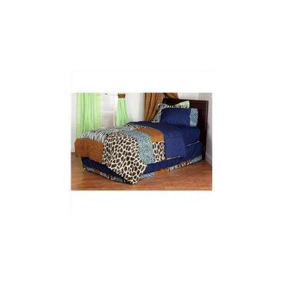 One Grace Place 10-14b055 Jazzie Jungle Boy Full Comforter