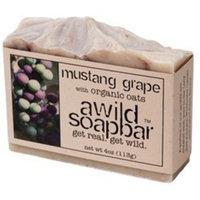 A Wild Soap Bar Mustang Grape Organic Bar Soap