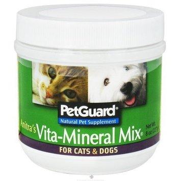 Pet Guard PetGuard Anitra's Vita-Mineral Mix Natural Pet Supplement, 8 Ounce