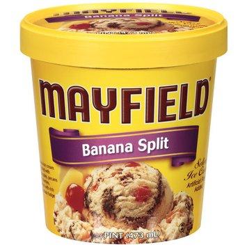 Mayfield Banana Split Ice Cream, 1 pt