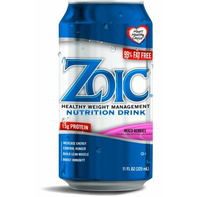 Solis Brands ZOIC Nutrition Drink Mixed Berries (Pack of 24)