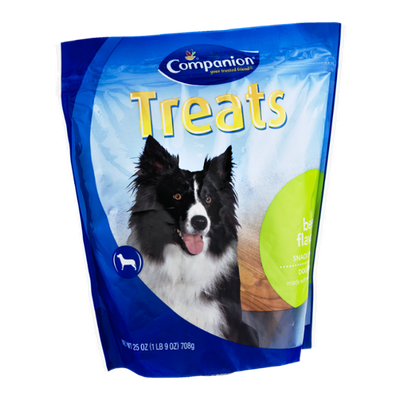 Companion Snack Sticks Dog Treats Beef Flavor