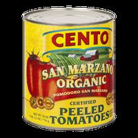 Cento Peeled Tomatoes San Marzano Organic With Basil Leaf