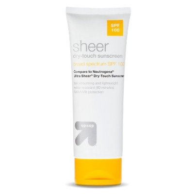 Sheer Dry-Touch Sunscreen with SPF 100 - 3 oz - up & up™