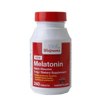 Walgreens Melatonin 3mg
