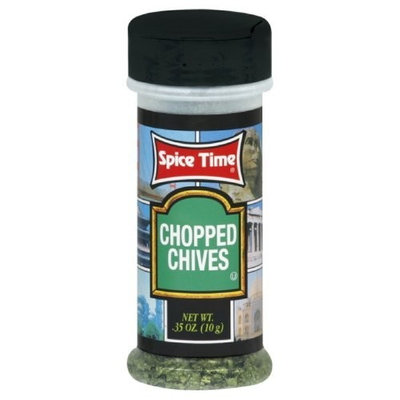 Spice Time Spice Chives, 0.35-Ounce (Pack of 12)